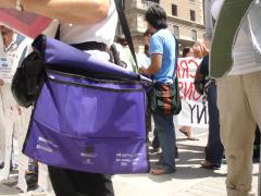 Manifestation contre les mines à ciel ouvert, 22 juillet 2010, DSC09144