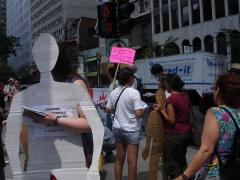 Manifestation contre les mines à ciel ouvert, 22 juillet 2010, DSC09146