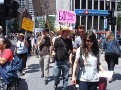 Manifestation contre les mines à ciel ouvert, 22 juillet 2010, DSC09154