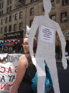 Manifestation contre les mines à ciel ouvert, 22 juillet 2010, DSC09155