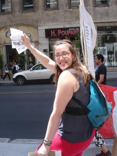 Manifestation contre les mines à ciel ouvert, 22 juillet 2010, DSC09156