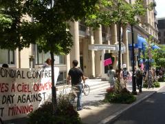 Manifestation contre les mines à ciel ouvert, 22 juillet 2010, DSC09157