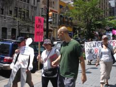 Manifestation contre les mines à ciel ouvert, 22 juillet 2010, DSC09161