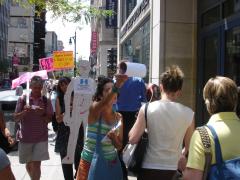Manifestation contre les mines à ciel ouvert, 22 juillet 2010, DSC09165