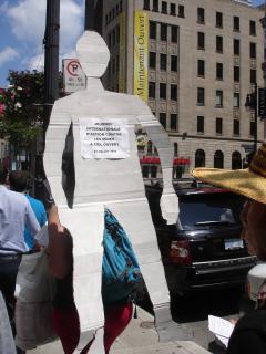 Manifestation contre les mines à ciel ouvert, 22 juillet 2010, DSC09167