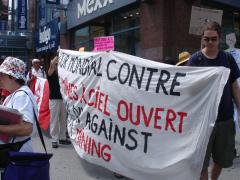 Manifestation contre les mines à ciel ouvert, 22 juillet 2010, DSC09172