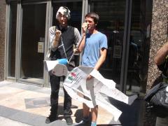 Manifestation contre les mines à ciel ouvert, 22 juillet 2010, DSC09176