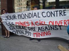 Manifestation contre les mines à ciel ouvert, 22 juillet 2010, P6011078