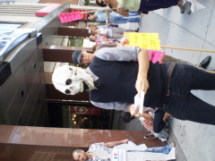 Manifestation contre les mines à ciel ouvert, 22 juillet 2010, P6011079