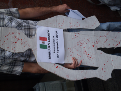 Manifestation contre les mines à ciel ouvert, 22 juillet 2010, P6011082