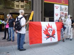 Manifestation contre les mines à ciel ouvert, 22 juillet 2010, P6011090