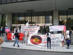 Manifestation contre les mines à ciel ouvert, 22 juillet 2010, P6011107