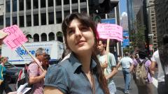 Manifestation contre les mines à ciel ouvert, 22 juillet 2010, SAM_3014, de Alex