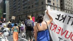 Manifestation contre les mines à ciel ouvert, 22 juillet 2010, SAM_3015, de Alex