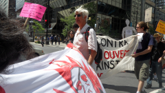 Manifestation contre les mines à ciel ouvert, 22 juillet 2010, SAM_3017, de Alex