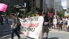 Manifestation contre les mines à ciel ouvert, 22 juillet 2010, SAM_3020, de Alex