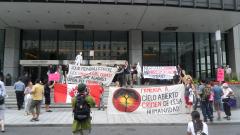 Manifestation contre les mines à ciel ouvert, 22 juillet 2010, SAM_3022, de Alex