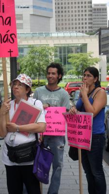 Manifestation contre les mines à ciel ouvert, 22 juillet 2010, SAM_3033, de Alex