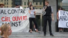 Manifestation contre les mines à ciel ouvert, 22 juillet 2010, SAM_3037, de Alex