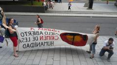 Manifestation contre les mines à ciel ouvert, 22 juillet 2010, SAM_3047, de Alex