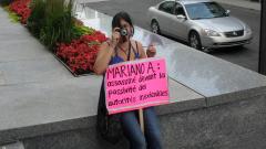 Manifestation contre les mines à ciel ouvert, 22 juillet 2010, SAM_3048, de Alex