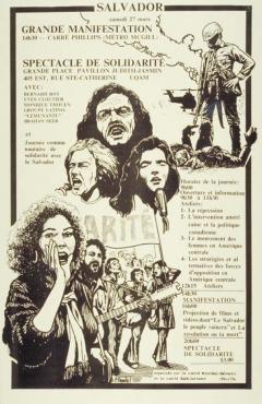 Salvador. Grande manifestation et spectacle de solidarité