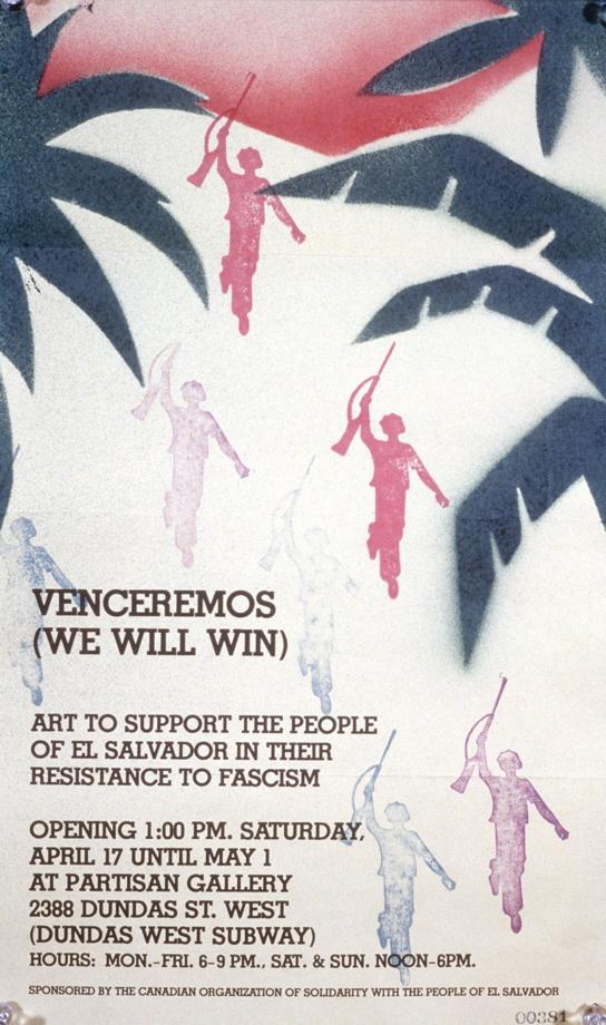 Venceremos (we will win), 1987