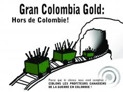 carte postal PASC Gran Colombia Gold hors de Colombie