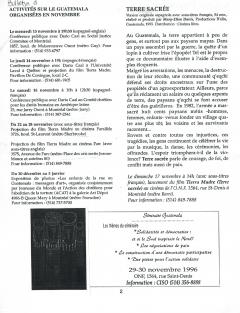 Bulletin d'information du CISO, vol.4, no.8, février 1997