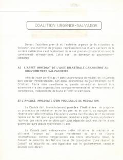 Coalition urgence-Salvador