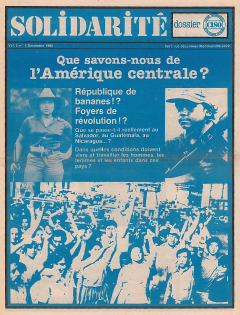 Couverture Solidarité, vol.5, no.1, décembre 1980_CISO