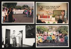 Décimo Encuentro internacional cristiano de solidaridad con América latina Romero y marchas Monseñor Romero