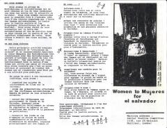 De Femmes à Mujeres pour le Salvador_CJS
