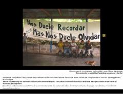 Exposition photo du PASC sur les communautés paysannes en résistance civile dans le Choco, photo 2