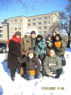 Groupe no a pascua Lama2, 17 janvier 2007