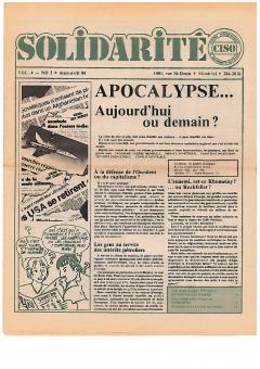 Guatemala et Nicaragua. Solidarité, vol.4, no.5 mars-avril 1980