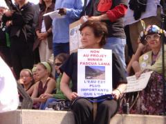 Jour de la terre, 1, à Montréal, 22 avril 2007