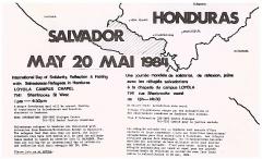 Journée de solidarité avec les réfugiés salvadoriens, 20 mai 1984