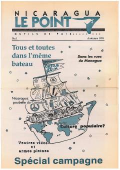 Le Point. Outils de paix, no. 1 spécial campagne, automne 1993_ CRNV