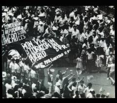Manifestation Monseñor Romero, Salvador