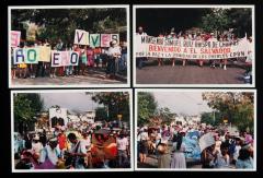 Manifestations pour Monseñor Romero et Monseñor Samuel Ruiz
