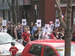 Marcha Dia de la Tierra 10, en Montreal, 22 avril 2007