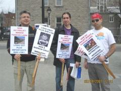 Marcha Dia de la Tierra 12,en Montreal, 22 avril 2007