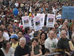 Marcha Dia de la Tierra 2, en Montreal, 22 avril 2007