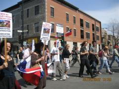 Marcha Dia de la Tierra 5, en Montreal, 22 avril 2007
