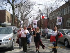 Marcha Dia de la Tierra 6, en Montreal, 22 avril 2007