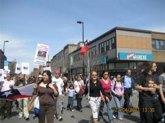 Marcha Dia de la Tierra 8, en Montreal, 22 avril 2007