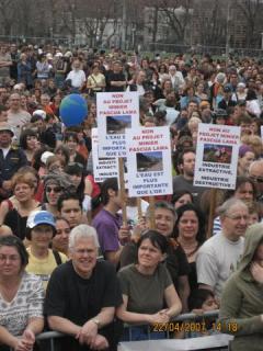 Marcha Dia de la Tierra 9, en Montreal, 22 avril 2007