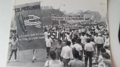 Marcha contra la intervención estadounidense, COLPROSUMAH, Honduras