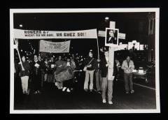 Mieux qu'un abri, un chez-soi! Marche-Célébration Romero 24 mars 1987